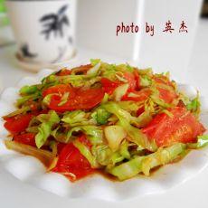大头菜炒柿子的做法