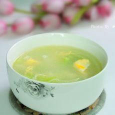 蔬菜鸡蛋汤的做法