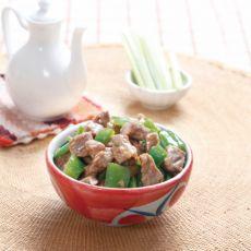 蚝油青椒牛肉的做法