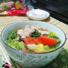 排骨白菜汤的做法