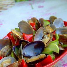 老黄瓜炒花蛤