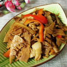五花肉炒笋干的做法