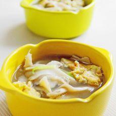 栗蘑鸡蛋汤
