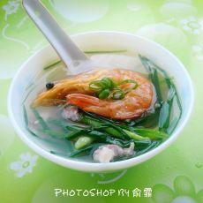 大虾干瘦肉汤