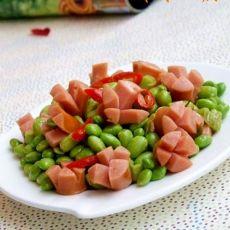 小炒毛豆的做法