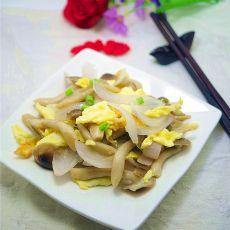 鸡蛋炒蟹味菇的做法