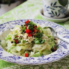 蒜香拌生菜