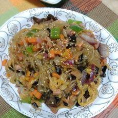 辣白菜炒杂菜