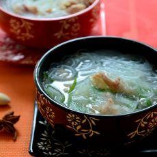 羊肉黄瓜粉丝汤的做法