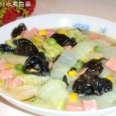 水煮白菜的做法