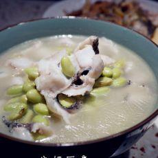 青豆黑鱼汤