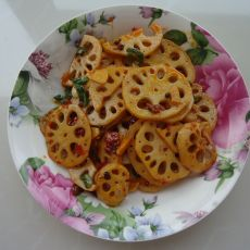 麻辣香锅藕片的做法