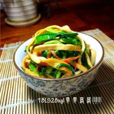 燕沙华分享:韭菜炒豆皮