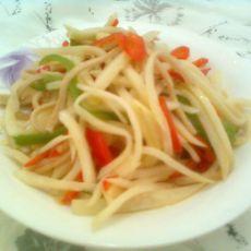 炒素丝——快手菜的做法