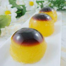 香橙焦糖果冻
