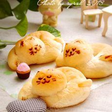小懒猫面包的做法