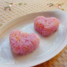 花样蒸米饭的做法