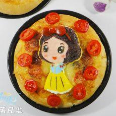 白雪公主披萨的做法