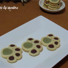 猫爪造型饼干