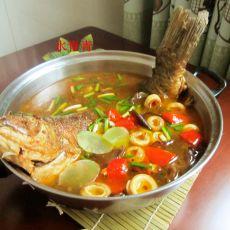 全鱼香锅的做法