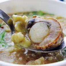 燕麦扇贝疙瘩汤