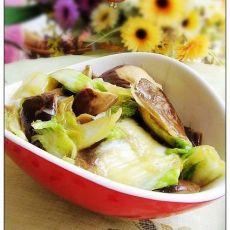 香菇素烧白菜