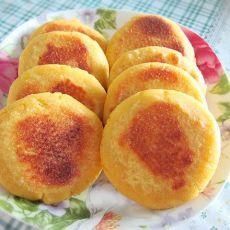 红薯馅玉米饼―粗粮细吃