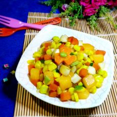 蛋白蔬果丁