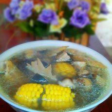 香菇玉米鸡汤