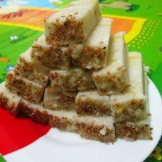 自制红薯糯米凉糕
