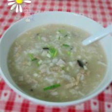 香菇虾皮瘦肉粥
