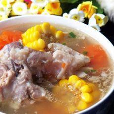 玉米萝卜大骨汤