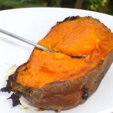 快速烤红薯的做法