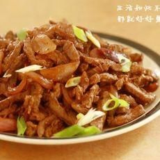 洋葱焖牛肉的做法