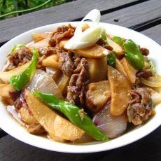 蚝油牛肉杏鲍菇