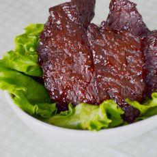 自制五香牛肉干的做法