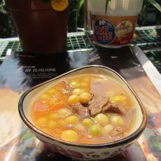 牛肉豌豆番茄汤的做法