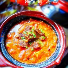 牛肉炖柿子