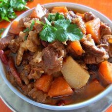 土豆胡萝卜烧牛肉的做法