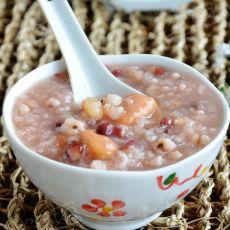 薏仁红豆菱角粥的做法