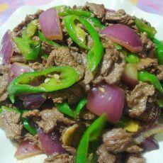黑椒汁炒牛肉的做法