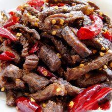 辣子牛肉的做法
