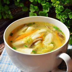 大白菜三丝豆腐汤的做法