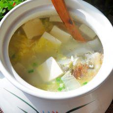 白菜豆腐鱼头汤