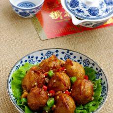 宫保土豆虾球的做法