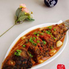 西红柿炖鲤鱼