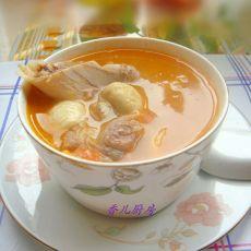 番茄蘑菇煲猪骨汤