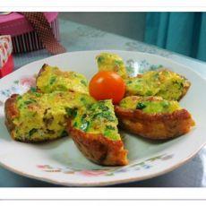 火腿煎蛋的做法