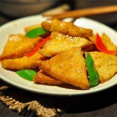 烧油豆腐的做法