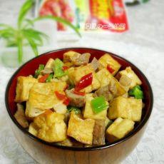 酱肉丁豆腐的做法